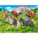 Castorland-111053 Princess Horse Ride