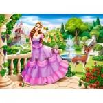 Castorland-111091 Princess in the Royal Garden