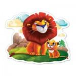 Castorland-120161 Pièces XXL - Lions