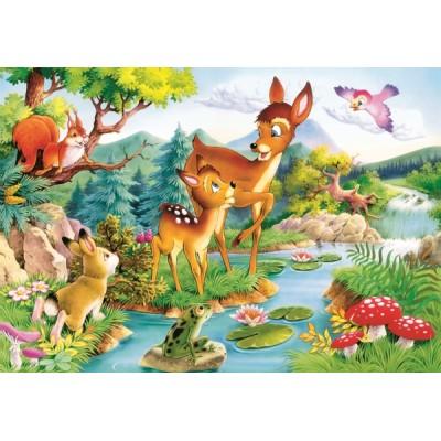 Castorland-12725 Bambi