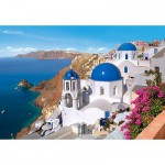Castorland-150663 Santorin, Grèce