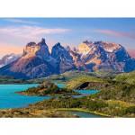 Castorland-150953 Parc national Torres del Paine en Patagonie, Chili