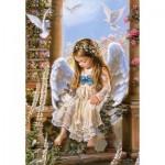Castorland-151165 Sandra Kuck : Tendre Amour