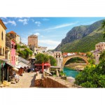 Castorland-151387 Vieille Ville de Mostar, Bosnie-Herzégovine
