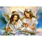 Castorland-151394 Le Cadeau d'un Ange