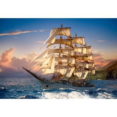 Castorland-151431 Sailing At Sunset
