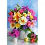 Castorland-151516 Flower Bouquet