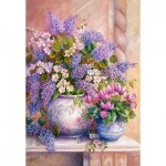 Castorland-151653 Lilac Flowers