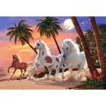 Castorland-151691 White Horses