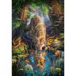 Castorland-151707 Loup dans la Forêt