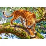 Castorland-151752 Sneaking Jaguar
