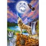 Castorland-151806 Wolf's Night