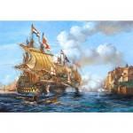 Castorland-200245 Bataille navale de Porto Bello 1739
