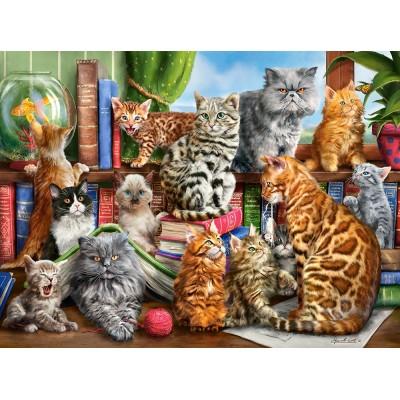 Castorland-200726 House of Cats