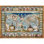 Castorland-200733 Map of The World, 1639