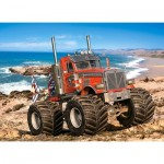 Castorland-222100 Monster Truck on the Rocky Coast