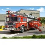 Castorland-27040 Camion de Pompier