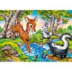 Castorland-27446 Les Animaux de la Forêt