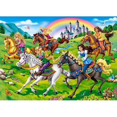 Castorland-27507 Princess Horse Ride