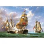 Castorland-300037 Vessels : La bataille de Trafalgar