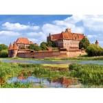 Castorland-300211 Château de Malbork, Pologne