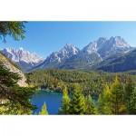 Castorland-300242 Autriche : Lac dans les Alpes