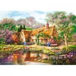 Castorland-300365 Twilight at Woodgreen Pond