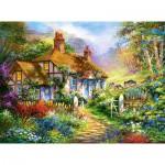 Castorland-300402 Forest Cottage