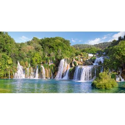 Castorland-400133 Cascades du Parc National de Krka, Croatie
