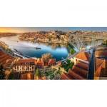 Castorland-400232 The Last Sun on Porto