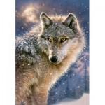 Castorland-52431 Lone Wolf