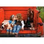 Castorland-52523 First Kiss