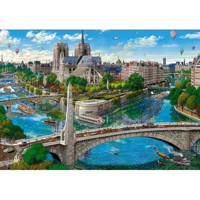 Castorland-52653 Paris - Notre Dame