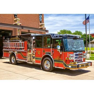 Castorland-52660 Camion de Pompier