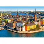 Castorland-52790 Vieille Ville de Stockholm, Suède