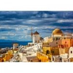 Castorland-52905 View of Oia Santorini