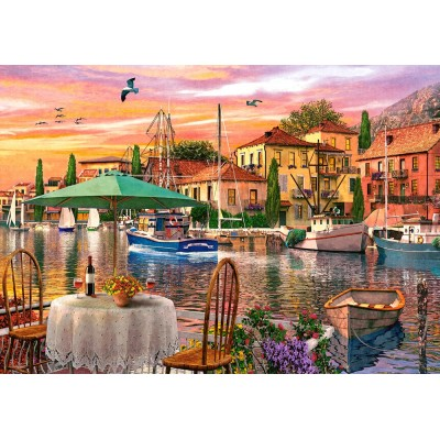 Castorland-52912 Sunset Harbour