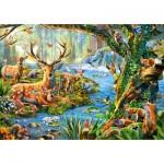 Castorland-52929 Forest Life