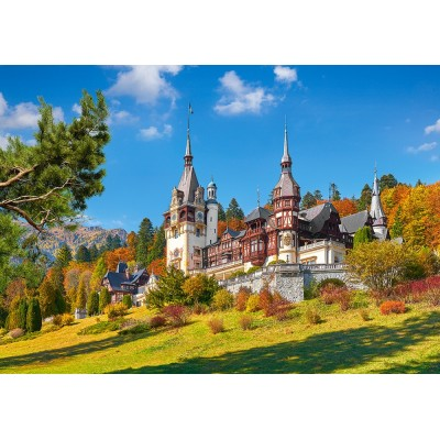 Castorland-53292 Castle Peles, Romania