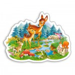 Castorland-B-015115 Petites Biches