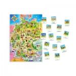 Castorland-E-180 Pièces XXL - Carte de l'Allemagne