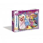 Clementoni-07115 Disney Princess