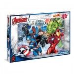 Clementoni-07440 Pièces XXL - Avengers