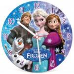 Clementoni-23021 Puzzle Horloge La Reine des Neiges