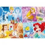 Clementoni-23703 Pièces XXL - Disney Princess