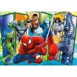 Clementoni-23704 Puzzle Géant de Sol - Spiderman