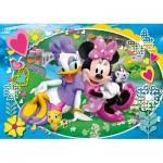 Clementoni-23708 Pièces XXL - Minnie Mouse