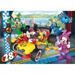 Clementoni-24481 Puzzle Géant de Sol - Mickey
