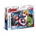 Clementoni-24495 Pièces XXL - Marvel Avengers