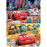 Clementoni-24741 2 Puzzles - Cars